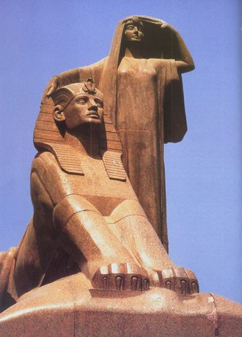 Statue Nahdat Misr de Mahmoud Mokhtar.